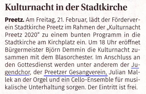 Evangelische Zeitung16-2-2020